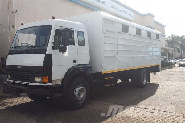 Tata LPT1518  ANIMAL CARRIER WITH DROPSIDE FLAPS 8T