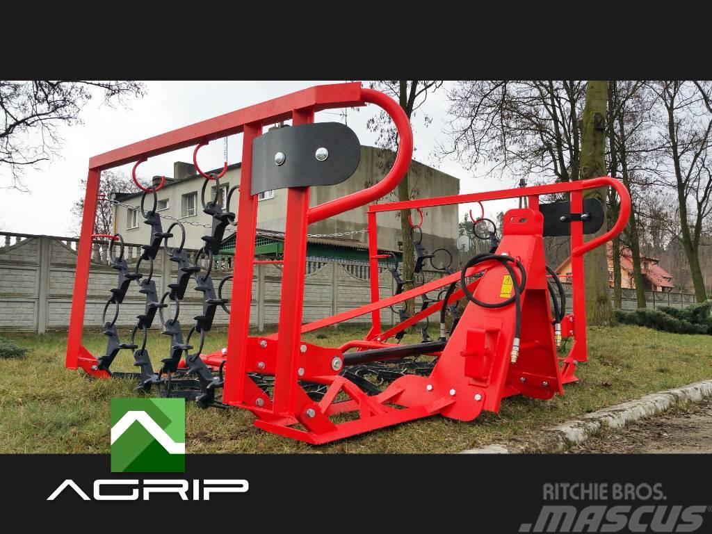 [Other] HARROW MEADOW REGENERATOR 4m hydraulic WL4H TRASCI
