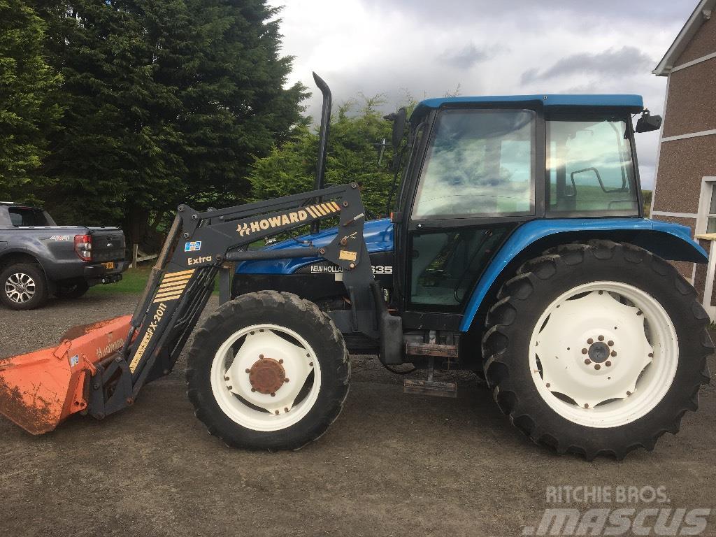 New Holland 5635, 1997, Tractors ...