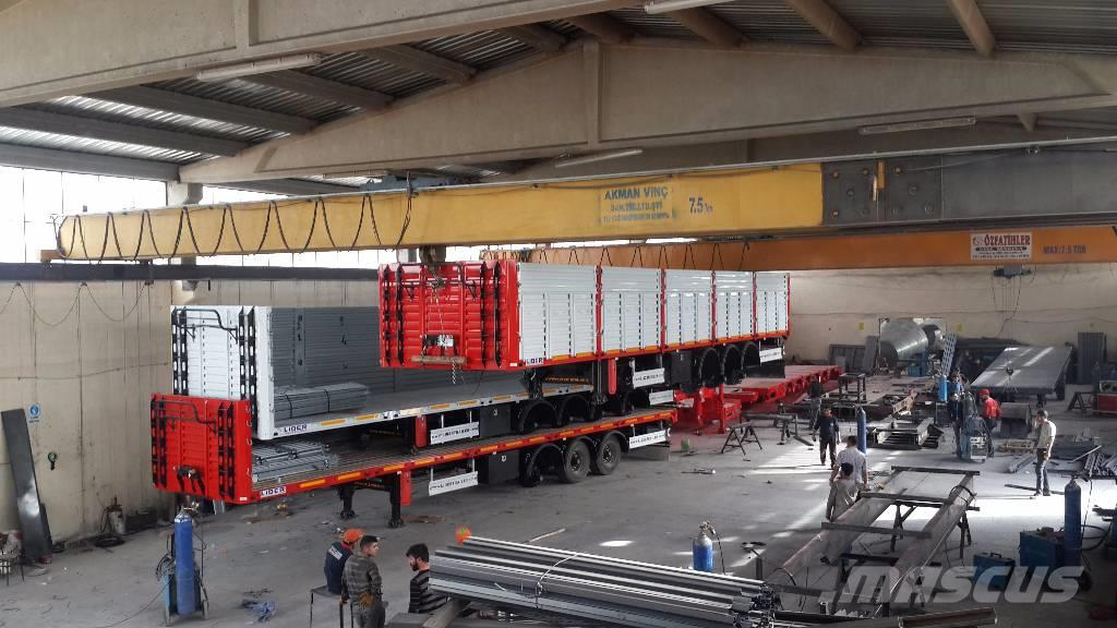 Lider NEW 2018 MODEL Flatbed With Wall from factory