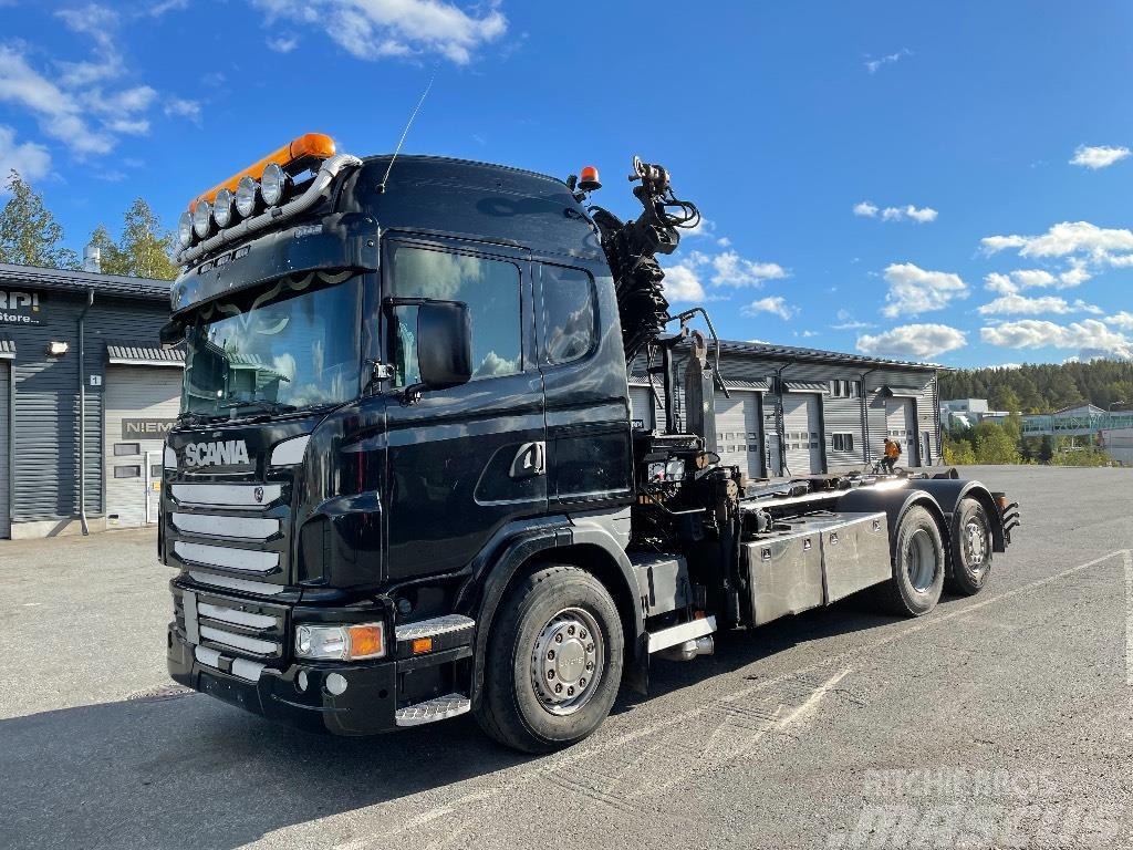 Scania G400 6x2*4 HIAB 211 + Koukku