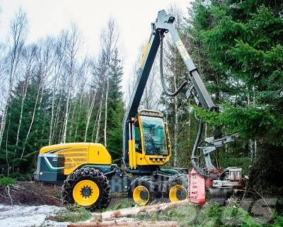 Eco Log 580E Neumaschine - mit Waratah H415