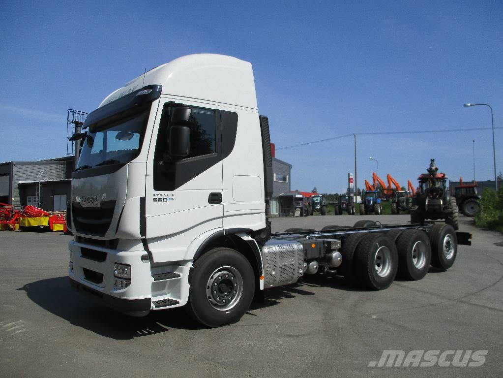 Iveco Stralis AS 350S56 8x4 Tridem Turku