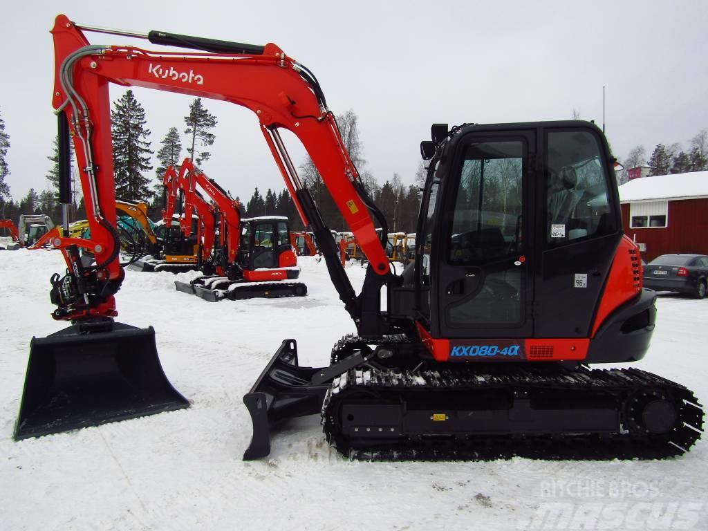 Kubota KX080-4 UUSI, PROBOPYÖRITTÄJÄ