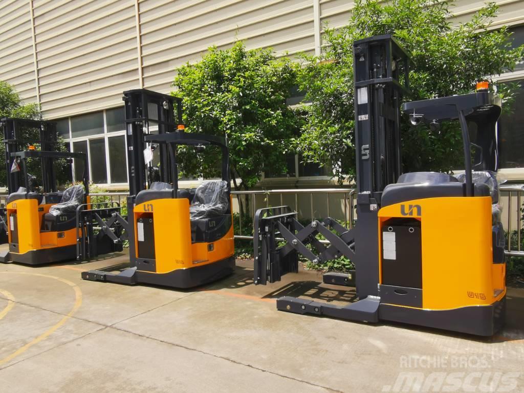 UN Forklift FBRS20 2T Sit-on Reach Truck Lithium Battery