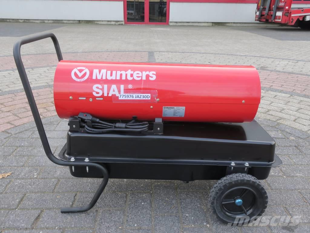 Munters JAZ 30D DIESEL KEROSINE HEATER 30,74KW 570M3