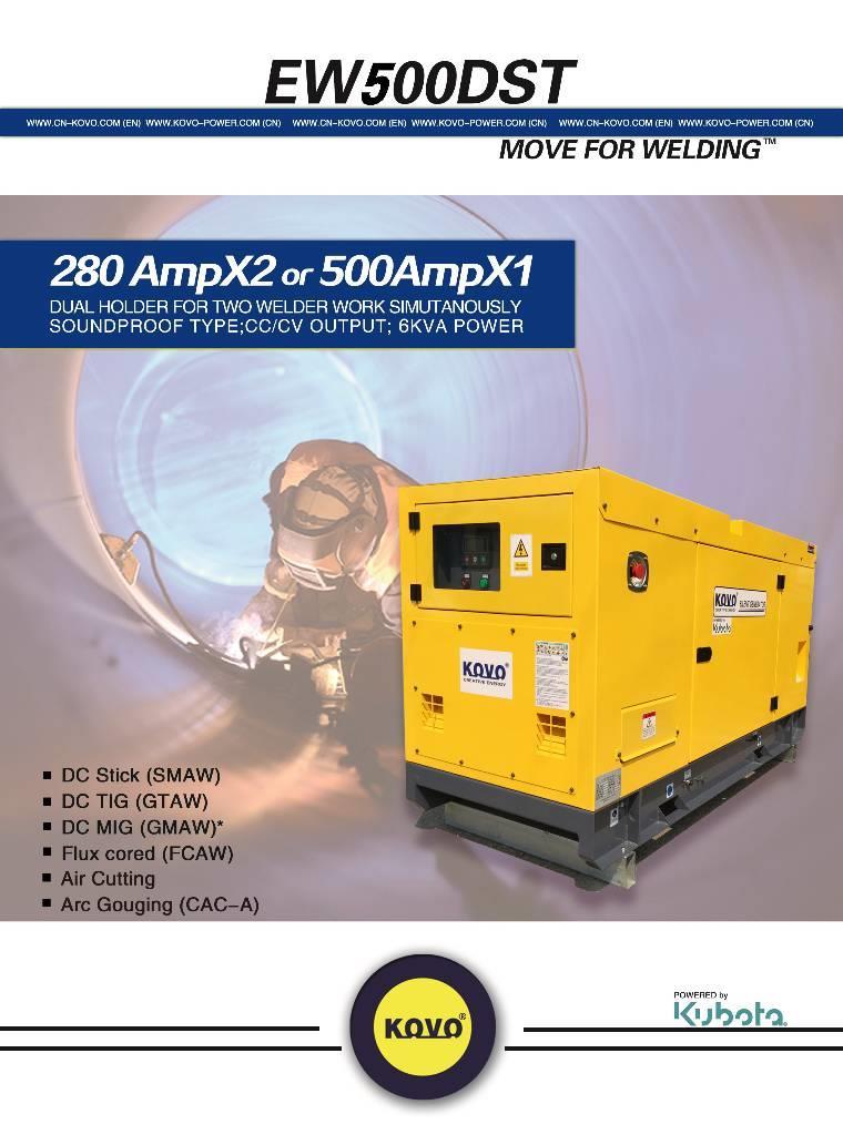 Fabtech Diesel MOTOSOLDADORA EW500DST