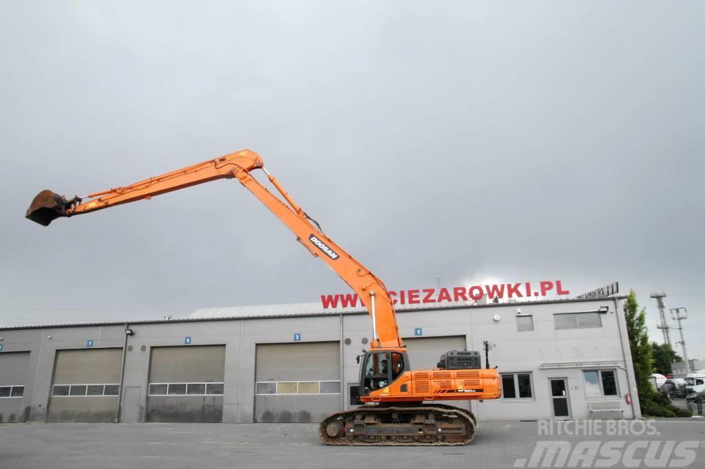 Doosan DX 530 LC-3 Long Reach 20m 2 units for sale