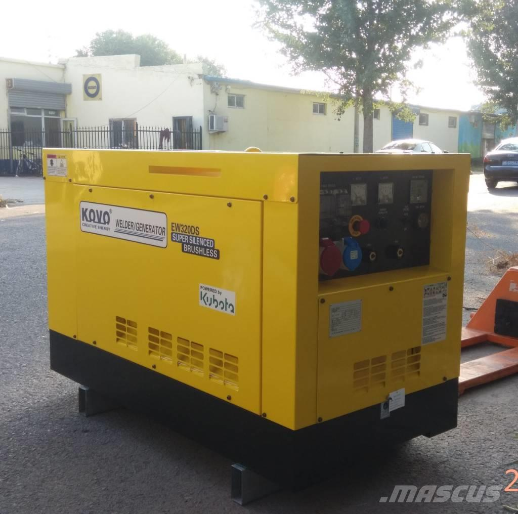 [Other] Japan Kubota welder generator EW320DS
