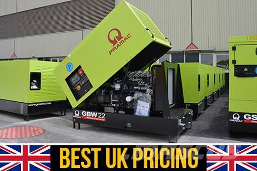 Pramac GBW22P 22kVA UK Perkins Home Generator (Key Start)