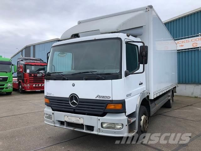 Mercedes-Benz ATEGO 1217L (12.000 KG GVW / MANUAL GEARBOX / TAIL