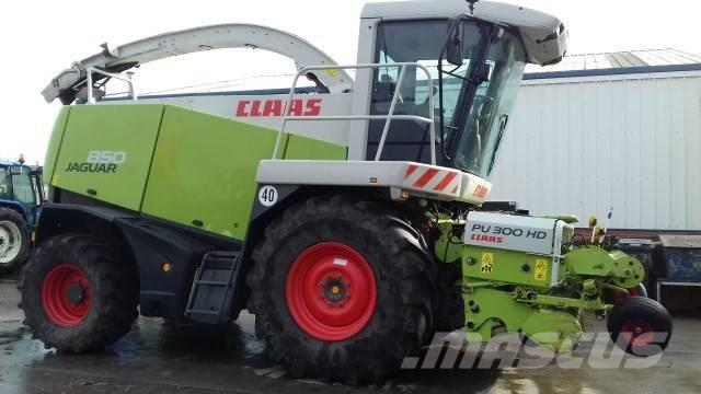 CLAAS 850 Jaguar Forage Harvester