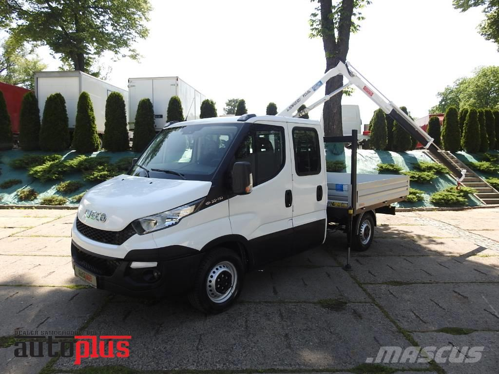 Iveco DAILY 35S11 DOKA HDS 525cm 710kg AIRCONDITION