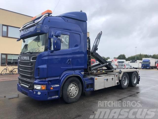 Scania R560 6X4 +RETARDER+JOAB