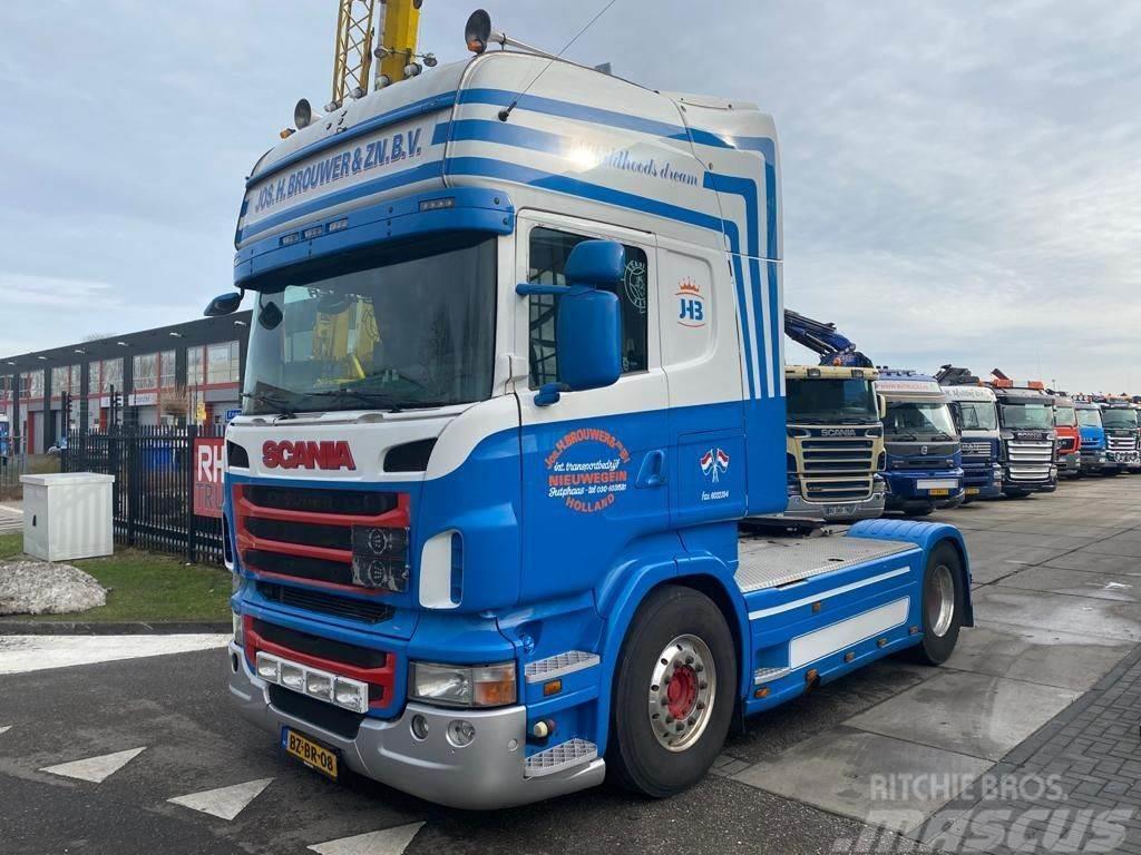 Scania R440 4X2 MANUAL + RETARDER + HYDRAULIEK