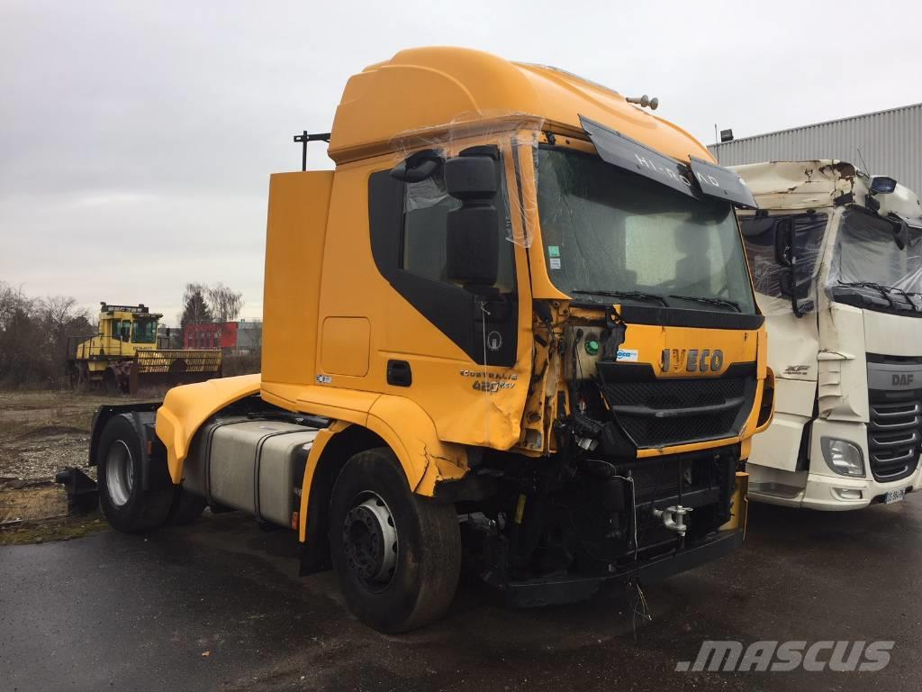 used iveco stralis 420 tractor units year 2014 price 17 455 for sale mascus usa. Black Bedroom Furniture Sets. Home Design Ideas