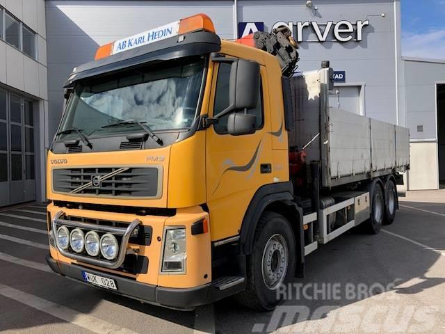 Volvo FM96x2 Flak o kran 295 000:-