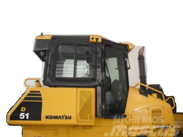 Komatsu D51 complet machine in parts