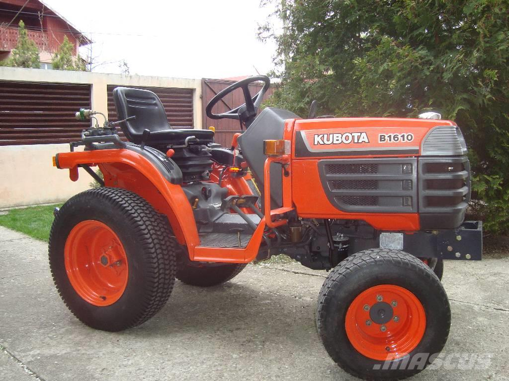 kubota b 1610 occasion prix 3 950 ann e d 39 immatriculation 2008 tracteur kubota b 1610. Black Bedroom Furniture Sets. Home Design Ideas