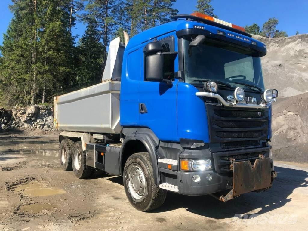 Scania R560 CB 6x4 Dumper truck