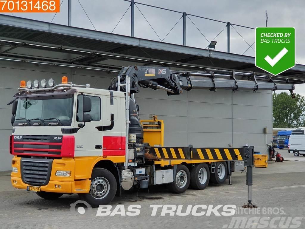 DAF XF105.410 8X2 Crane Kran Euro 5 Hiab 600 EP-5 HiPr