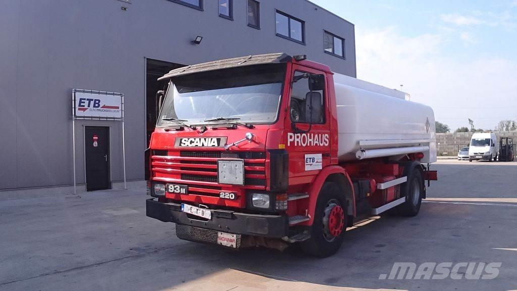 Scania 93 - 220 ( 12500 L / FULL STEEL / MANUAL PUMP)