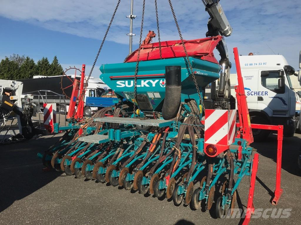 Sulky COMBINES DE SEMIS SULKY XEOS MD 4 ACCIDENTE*UNFALL