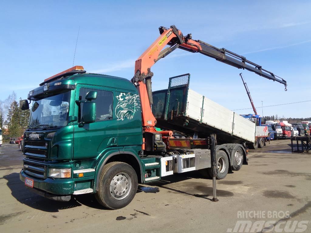 Scania P 380 6x2*4