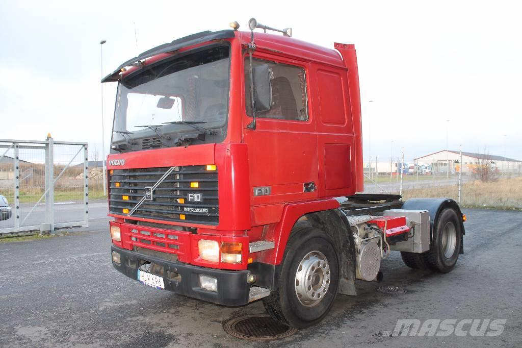 used volvo f10 4x2 tractor units year 1989 for sale mascus usa. Black Bedroom Furniture Sets. Home Design Ideas