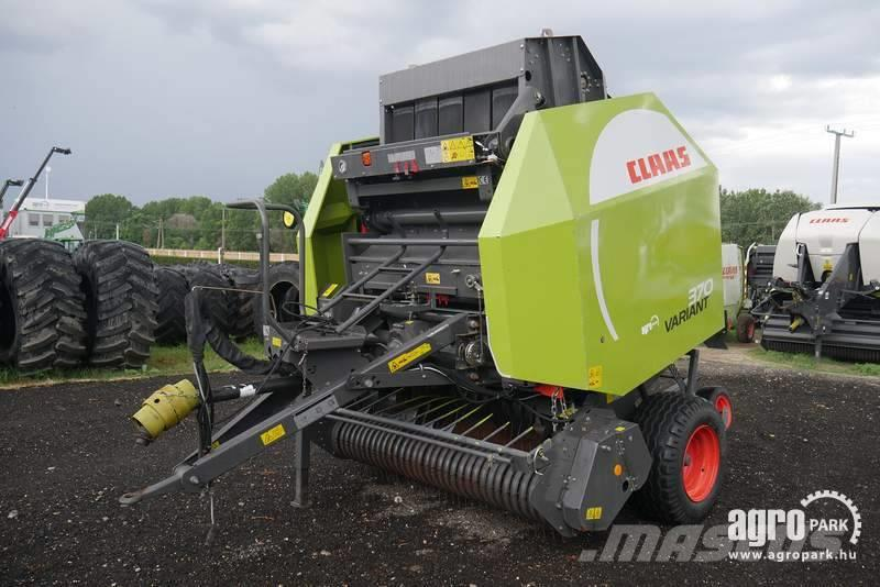 CLAAS Variant 370, 17.581 bales with net and twine 90-17