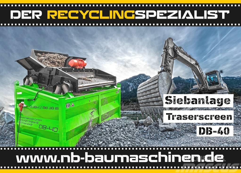 DB Engineering DB-40 Siebanlage | Flachdecksieb | Siebbox | Miete
