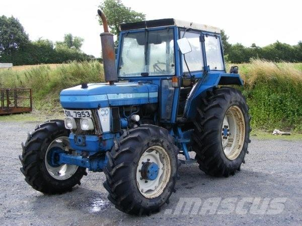 Ford 6610, 1990, Tractors
