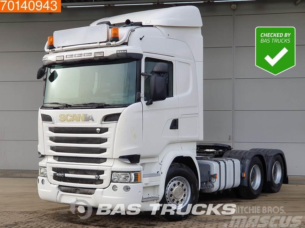 Scania R 580 6X4 V8 Manual Retarder Big-Axle Hydraulik Eu