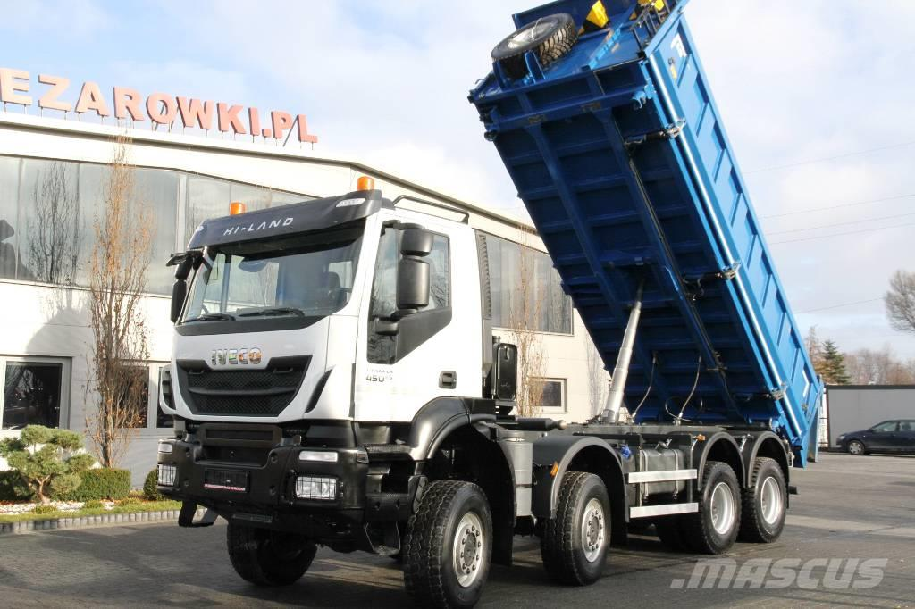 Iveco TRAKKER 8x8 HYDRAULIC BOARD 3-side tipper 5 units
