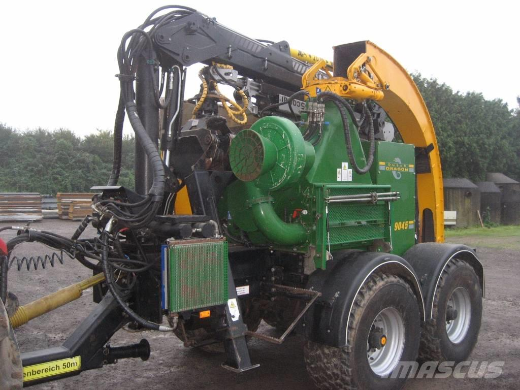 Dutch Dragon EC9045 houtversnipperaar, woodchipper, Holzhacker