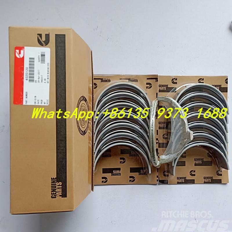 Cummins M11  main bearing 4025120 3801150  3016760