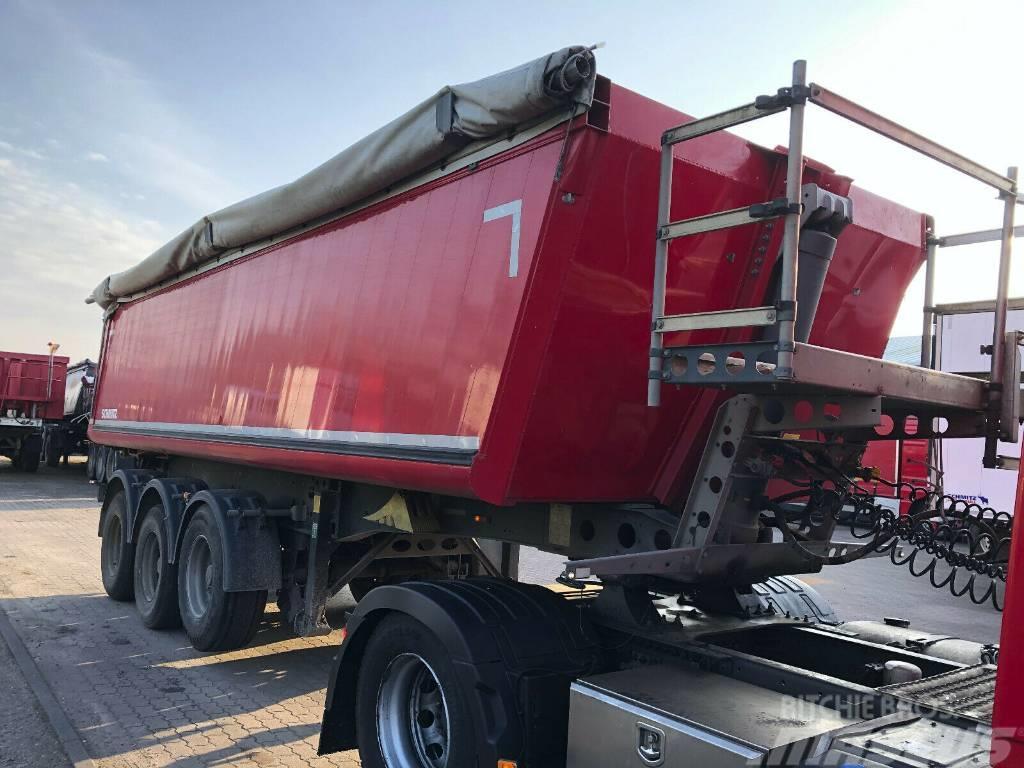 Schmitz Cargobull SKI 24/SL7.2 Alu Kipper Liftachse