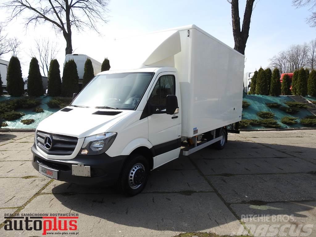 Mercedes-Benz SPRINTER 513 BOX WITH LIFT MBB 750kg