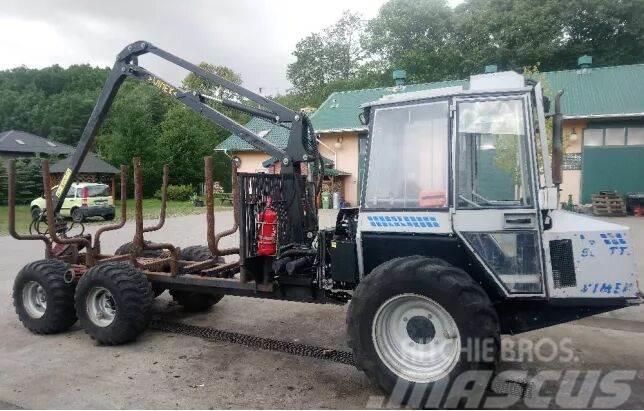 Timberjack Vimek 606TT