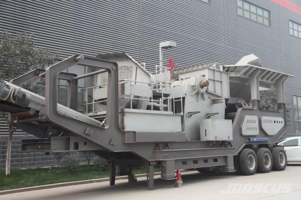 Liming PE600*900 Jaw Crusher Mobile Stone Crusher Line