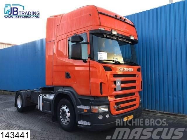 Scania R 380 Retarder, Airco, Opticruise, 3 pedals, Topli