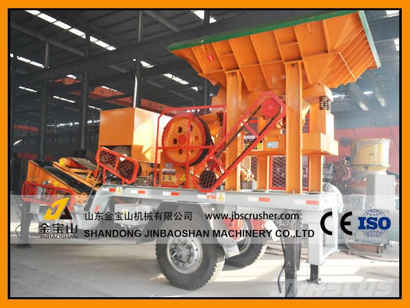 JBS Diesel Engine Portable PE250X400 Jaw Crusher Plant