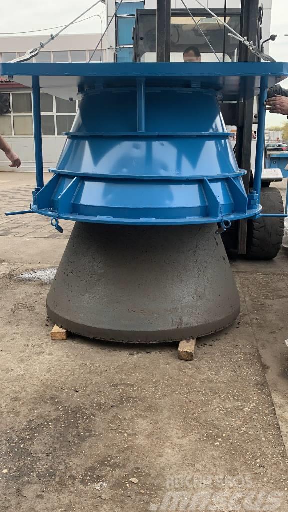 Metalika CK-1000 Concrete pipe machine