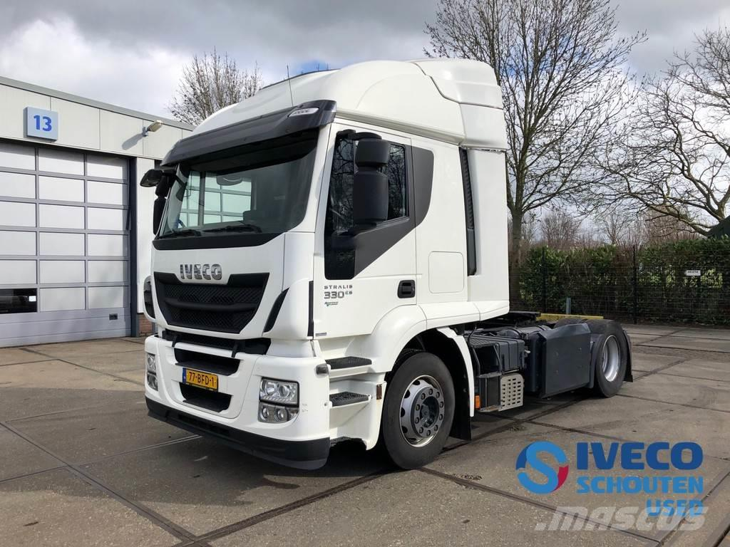 Iveco Stralis AT440S33T/P CNG LNG 2014 intarder Mautvrij