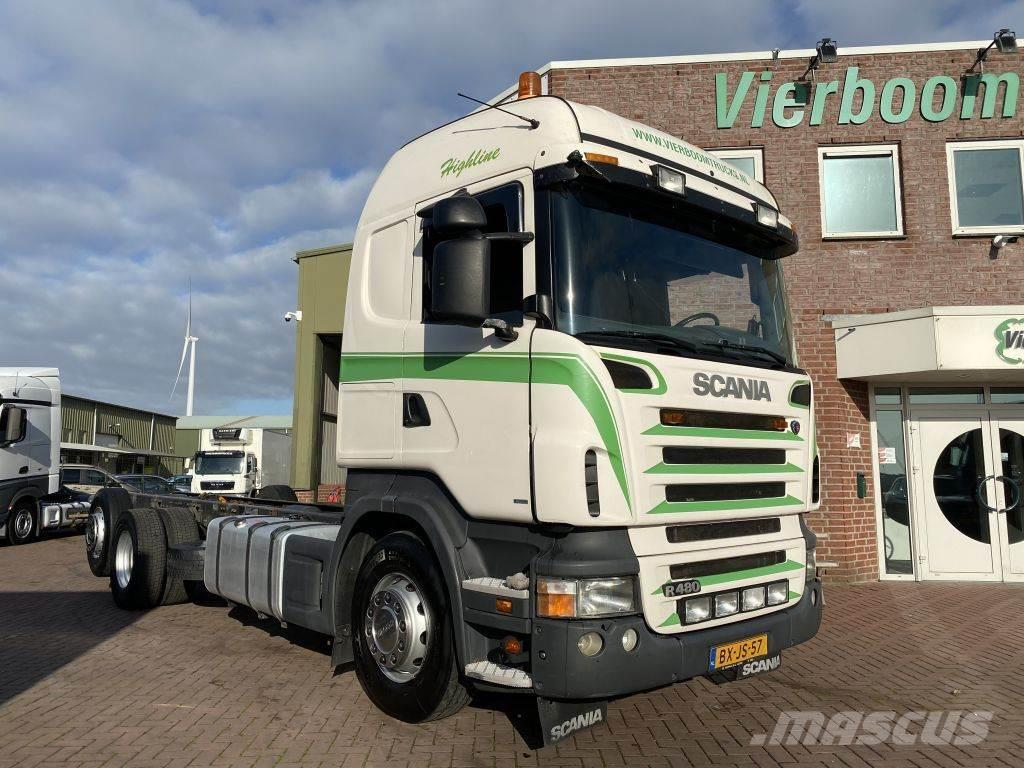 Scania R400 6X2 CHASSIS OPTICRUISE 3 PEDALS HOLLAND TRUCK