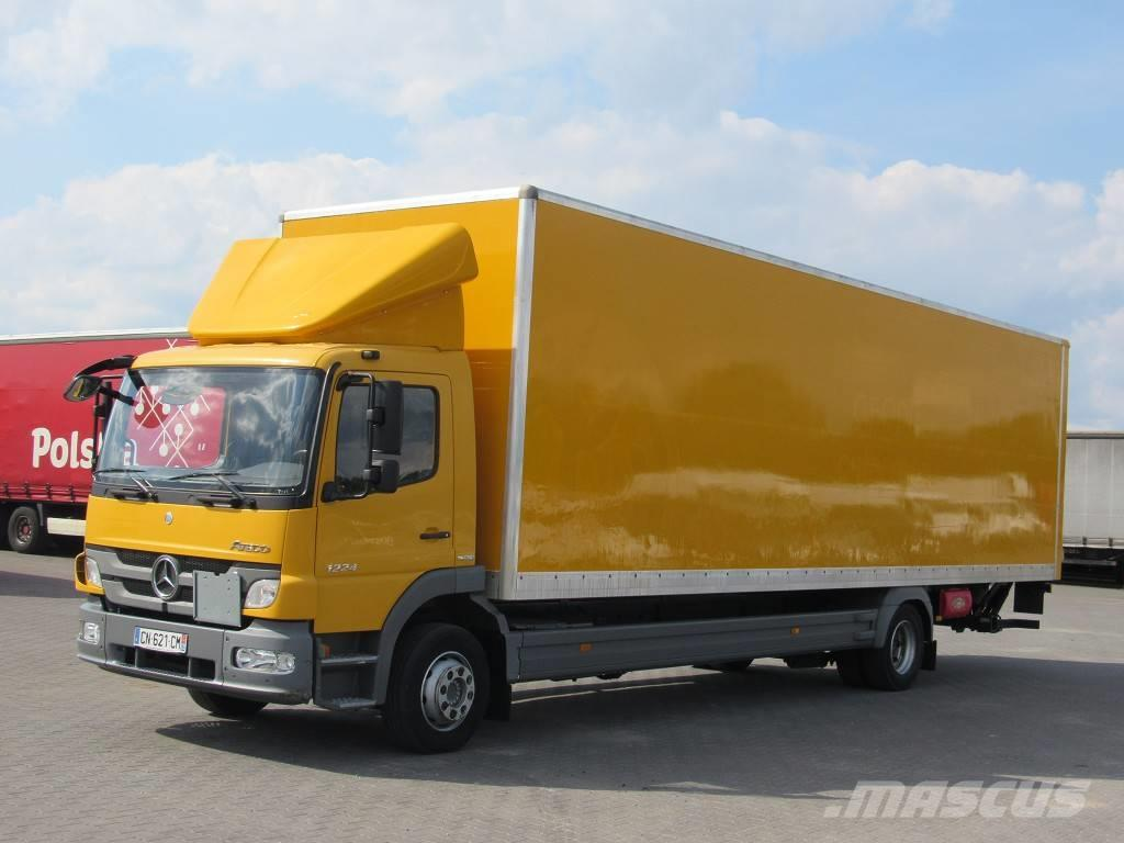 W Mega Mercedes-Benz Atego 1224 - Box body trucks, Price: £21,712, Year DB88