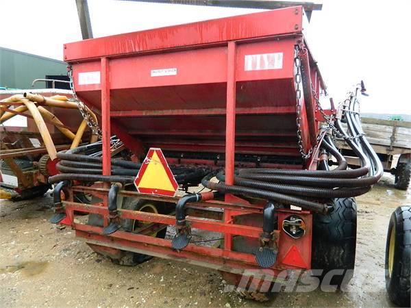 Tive 4000, Mineral spreaders