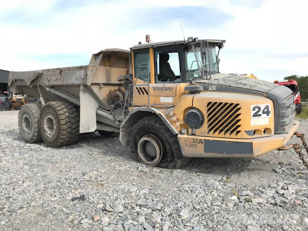 Volvo A25E Dumper DISMATLED