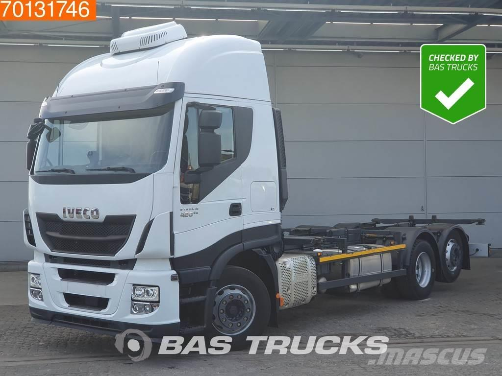 Iveco Stralis Hi-Way AS440S42 6X2 Intarder Liftachse ACC