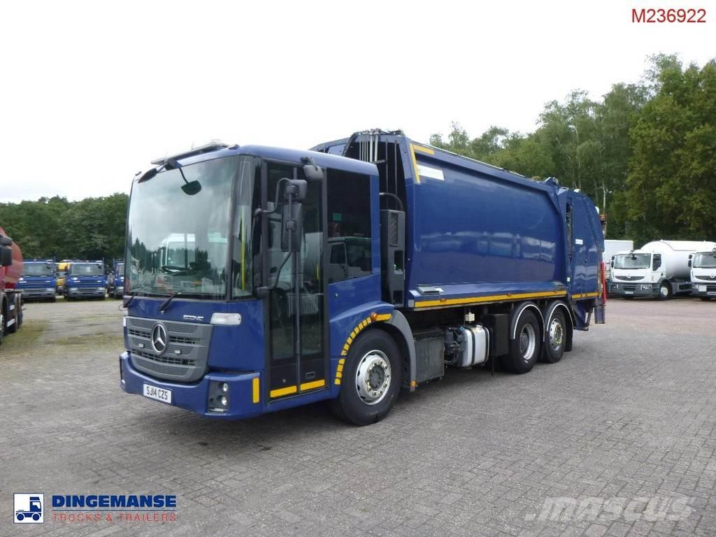 Mercedes-Benz Econic 2630 6x2 Euro 6 RHD Geesink Norba refuse tr